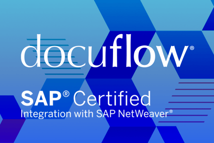 VersaFile docuflow® achieves certification with SAP Netweaver