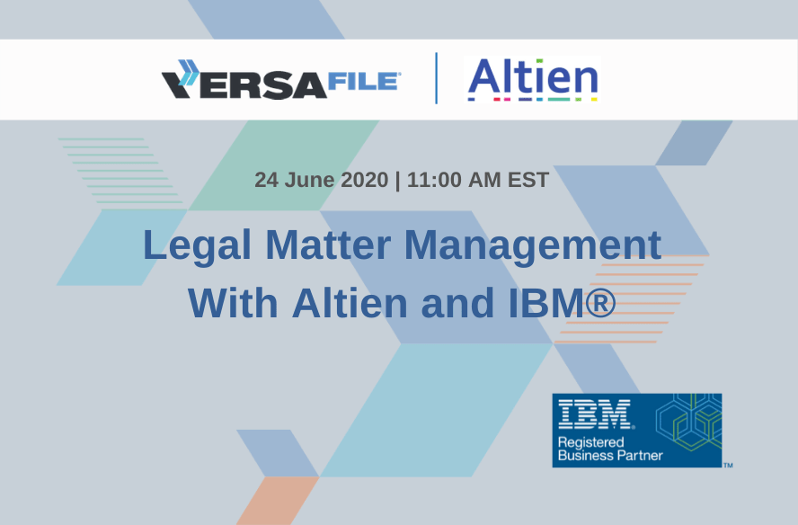 Legal Matter Management with Altien & IBM