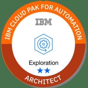 CP4A Architect Badge