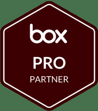 box PRO Partner Badge